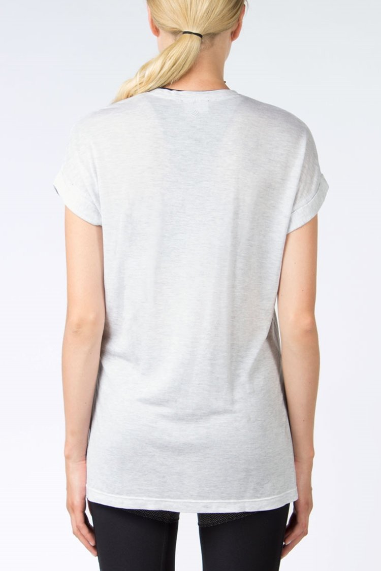 Pixel Split-Side Tee
