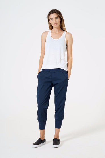 Simpatico 2.0 Striped Cropped Jogger