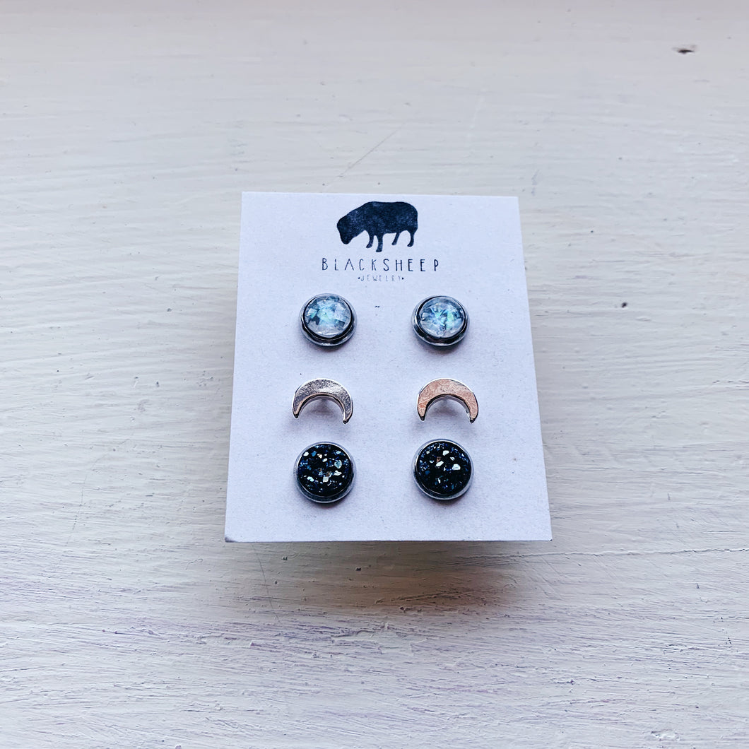 holiday gift set earrings
