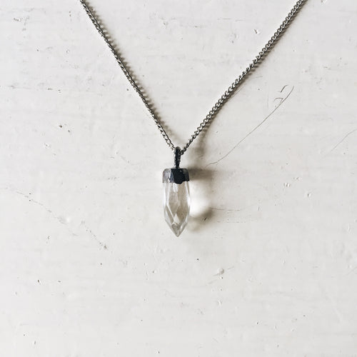 lucky you crystal necklace