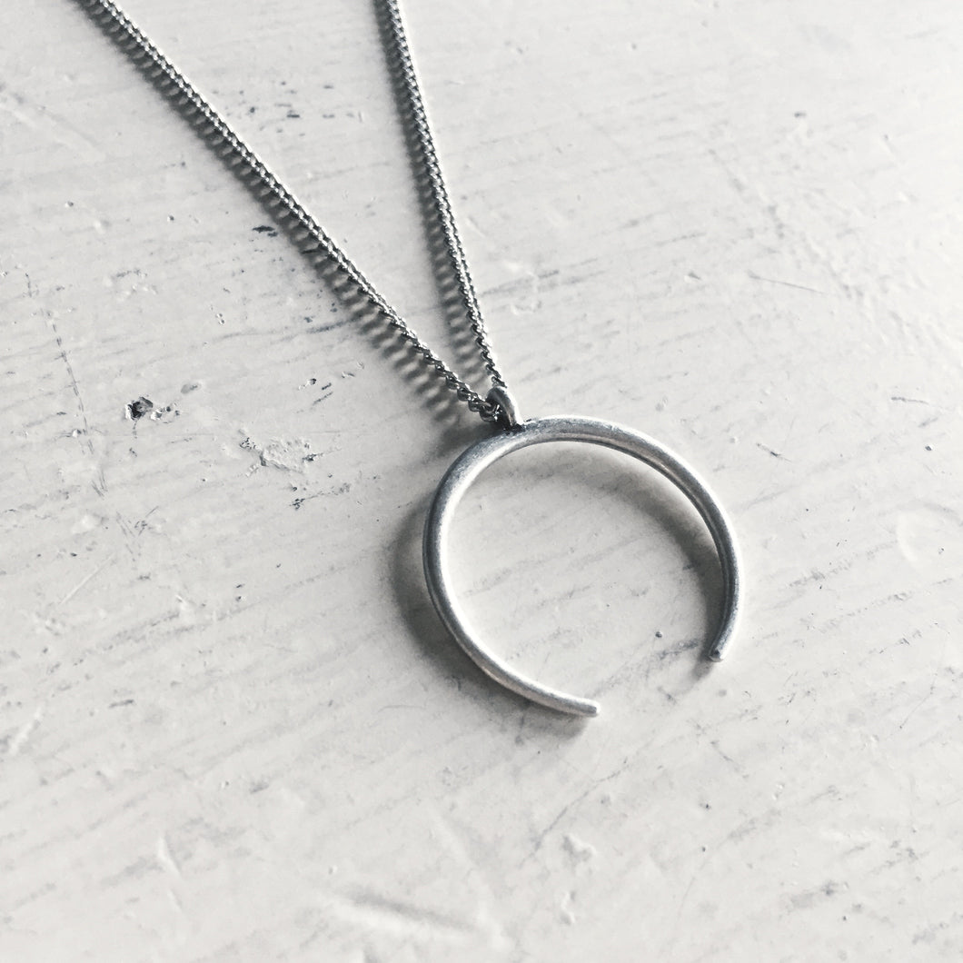 bullhorn necklace