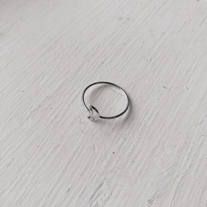 open moon stacking ring