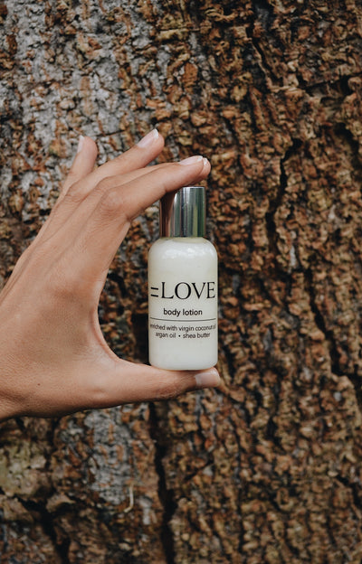 =LOVE body lotion