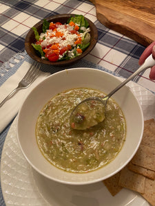 Easy, delicious Potato Leek Soup...all sous cheffed for you...for February 4th, National Soup Day