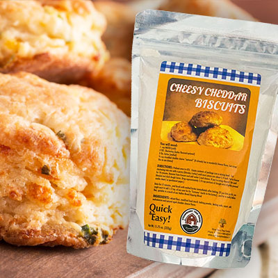 Cheddar Biscuits Gourmet Baking Mix