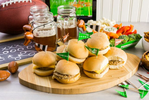 Game Day Recipes Sliders Gourmet Spices Seasonings