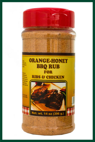 Orange Honey BBQ Glaze LARGE - Gourmet Seasoning
