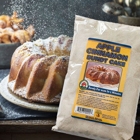 Apple Cinnamon Bundt Cake Mix - Gourmet Baking Mixes