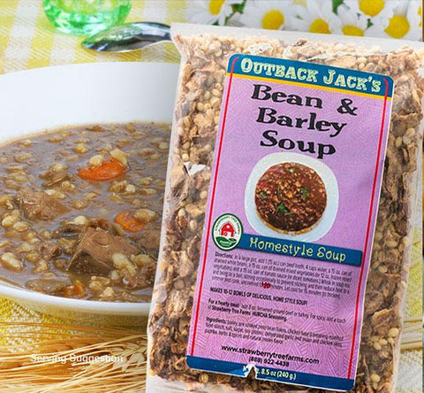 Beef Bean Barley Gormet Dry Dehydrated Gourmet Soup Mix