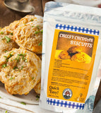 cheesy cheddar gourmet biscuit baking mix