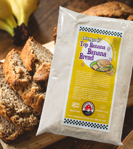 gourmet banana bread baking mix