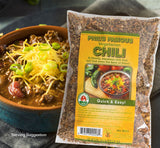 gourmet beef chili dry dehydrated soup mix