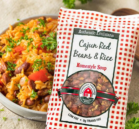 Cajun Red Beans & Rice Dry Dehydrated Soup Mix