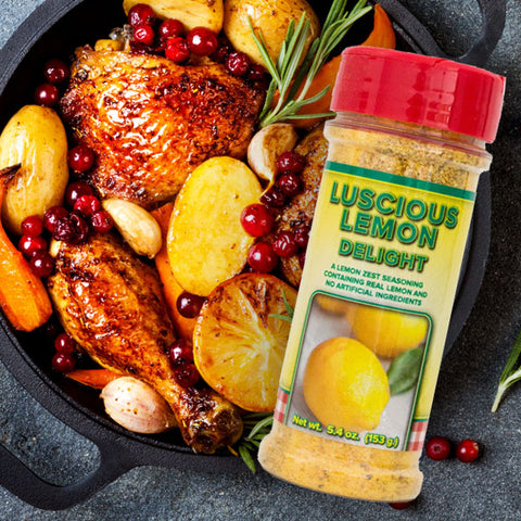 Luscious Lemon Delight Seasoning Mix
