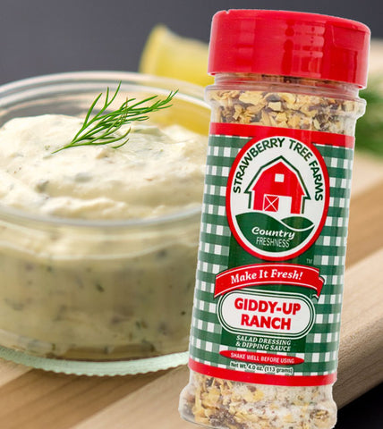gourmet seasonings ranch salad dressing spices