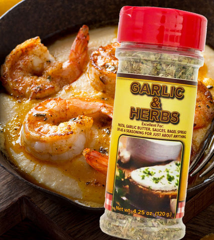 gourmet seasonings spices garlic herbs