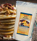 gourmet whole grain pancake baking mix