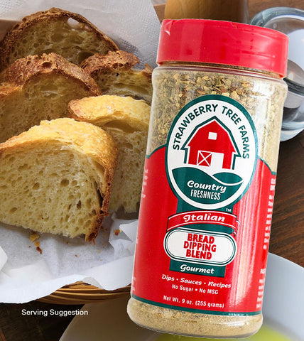 italian bread dipping blend gourmet herbs spices mix