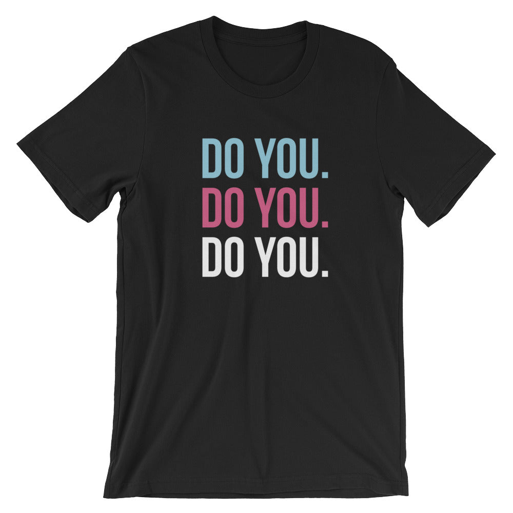 DO YOU. T-Shirt Black
