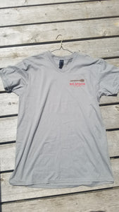 Big Spoon Grey V-Neck Tee