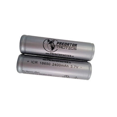 Predator Tactics Batteries-18650 Lithium Ion-2 Pack