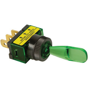 Battery Doctor(R) 20501 On/off Illuminated 20-Amp Toggle Switch (Green