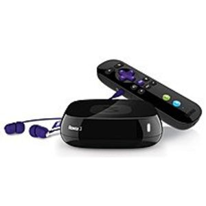 Roku 4200R 3 Streaming Media Player - Fast Ethernet - Netflix, VUDU