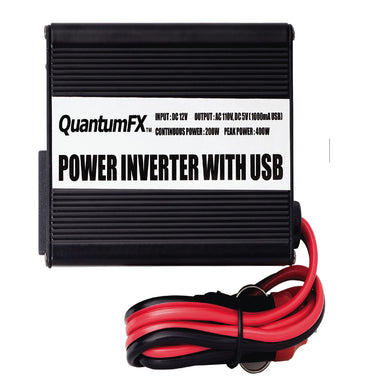 QFX 200W Inverter with USB