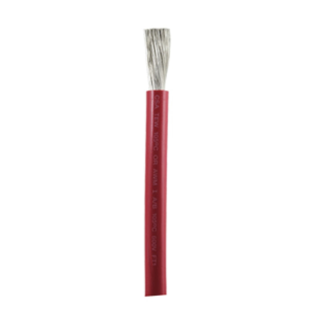 Ancor Red 1/0 AWG Battery Cable - Sold By The Foot