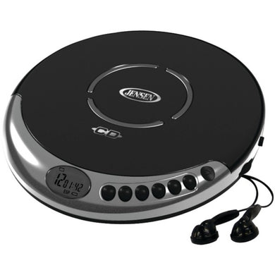 JENSEN(R) CD-60C Personal CD Player with Bass Boost
