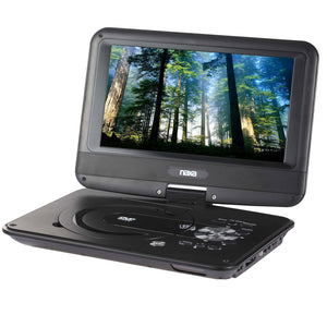 Naxa 9 TFT LCD Swivel Screen Portable DVD Player with USB/SD/MMC Inputs
