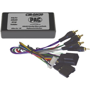 PAC(R) C2R-GM29 Radio Replacement Interface (29-Bit Interface for 2007