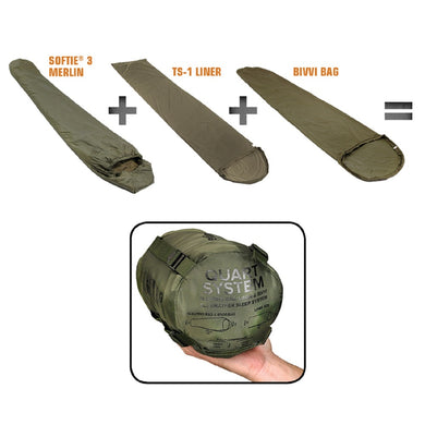 Snugpak Quart All Weather Sleep System - Olive