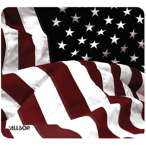 Allsop(TM) 29302 Old-Fashioned American Flag Mouse Pad
