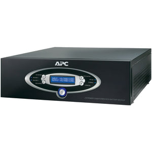 APC(R) J15BLK 12-Outlet J-Type Power Conditioner with Battery Backup (Black; 4,500 Joules; 1,500VA; 865 Watts)