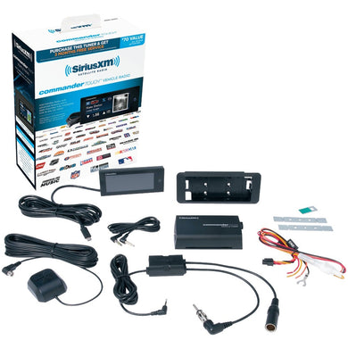 SiriusXM(R) SXVCT1 Commander Touch(TM) Vehicle Tuner
