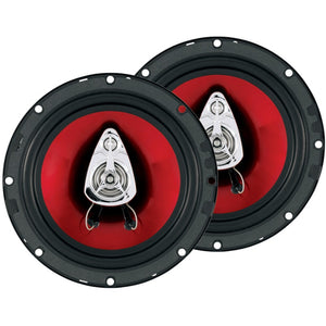 Boss Audio Systems CH6530 Chaos Exxtreme Series Full-Range Speakers (6.5, 300 Watts, 3 Way)