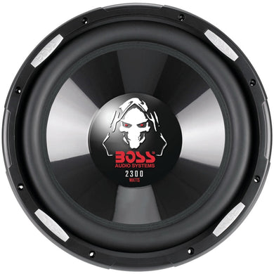 Boss Audio Systems P126DVC Phantom Series Dual Voice-Coil Subwoofer (12)