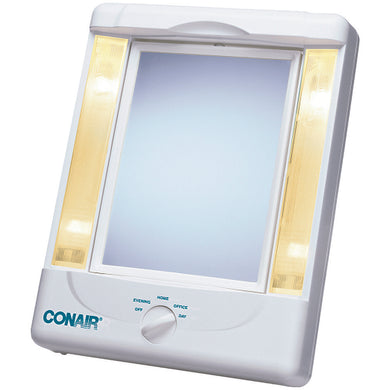 Conair(R) TM8LX3 2-Sided Makeup Mirror with 4 Light Settings