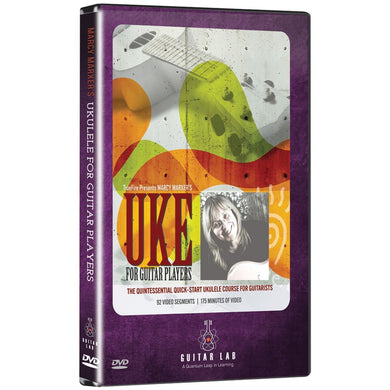 Guitar Lab(R) TF08142 Ukulele For Guitar Players DVD