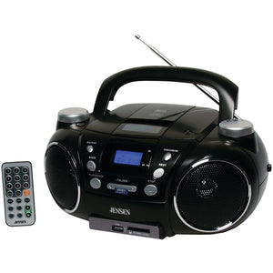 JENSEN(R) CD-750 Portable AM/FM Stereo CD Player with MP3 Encoder/Player