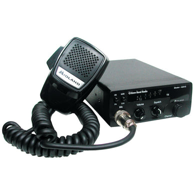Midland(R) 1001Z 40-Channel Mobile CB Radio with PA