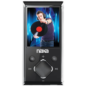 Naxa(R) NMV173NSL 8GB 1.8 LCD Portable Media Players (Silver)