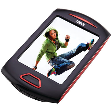 Naxa(R) NMV179RD 8GB 2.8 Touchscreen Portable Media Players (Red)