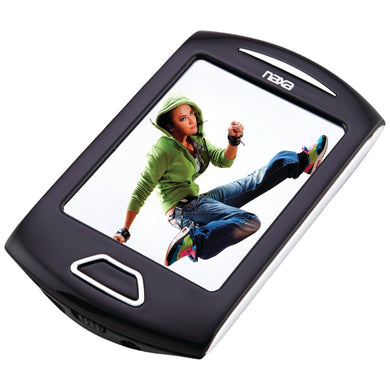 Naxa(R) NMV179SL 8GB 2.8 Touchscreen Portable Media Players (Silver)