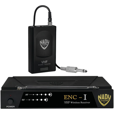 Nady(R) ENC 1 GT ENC-I Single-Channel Professional VHF Wireless Instrument System