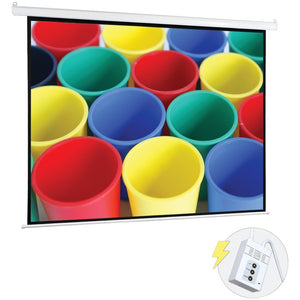 Pyle(R) PRJELMT106 Motorized Projector Screen (100)