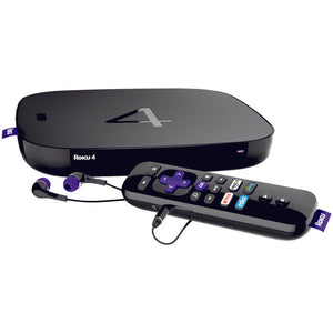 Roku(R) 4400XB Refurbished Streaming 4K UHD Media Player