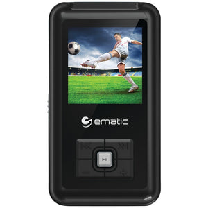 Ematic(R) EM208VIDBL 8GB 1.5 MP3 Video Player
