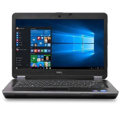Dell Latitude E6440 Core i7-4600M Dual-Core 2.9GHz 4GB 500GB DVD±RW 14 LED Laptop W10H w/Webcam & BT (Silver) - B